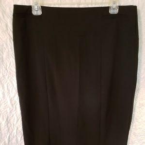 New York & Company BLK Pencil Skirt Sz 10